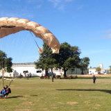 Parachute landing area