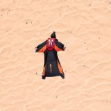 Wingsuit over Jordan