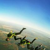 Team Carneros stack above Skydive Spain