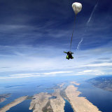 Tandem jump in Croatia - The View