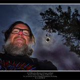 Total Solar Eclipse Selfie with Corona