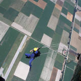 Static line exit