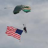 skydive utah, my wife and I