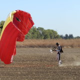 Frisbee Landing