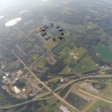 Star Crest 10 Way Female Skydive Milwaukee