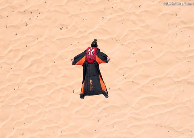 Wingsuit over Jordan