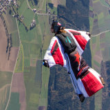 Wingsuit over Saulgau