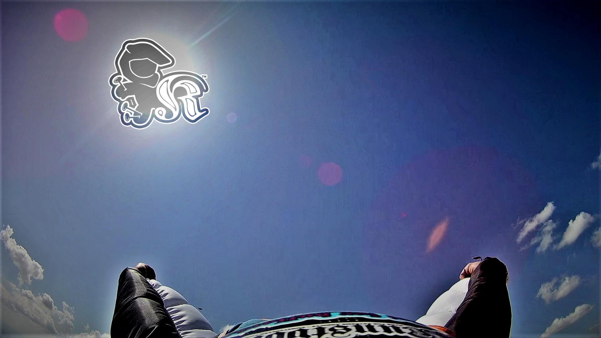 Wingsuit rear view