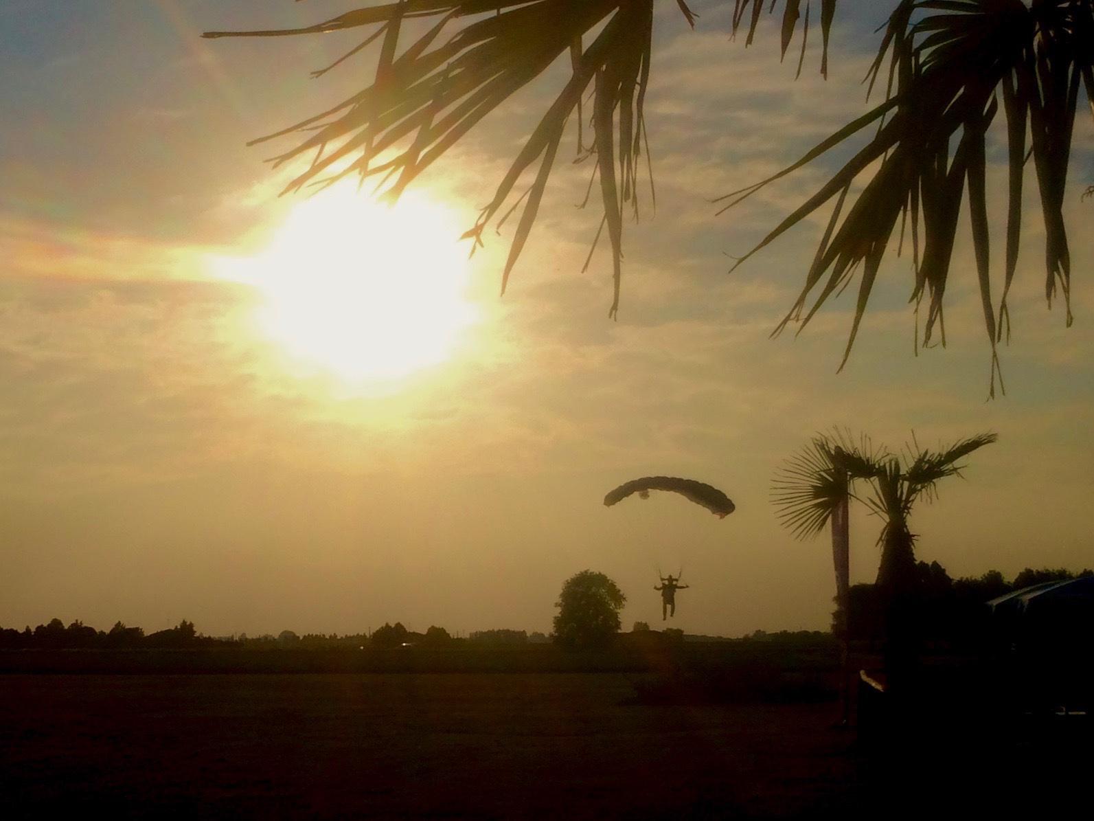 Landing at Sunset 1/3