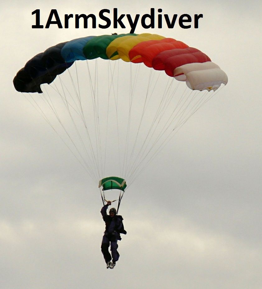 One Arm Skydiver