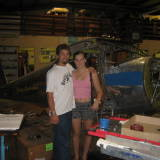 Amanda and i with my old luscombe N812B