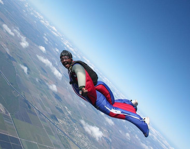 1st Wingsuit @ Clewiston