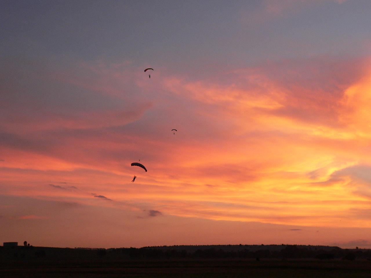 Africa Sunset Jump