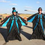 First Wing Suit Jump