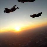 Sunset Wingsuit Flock