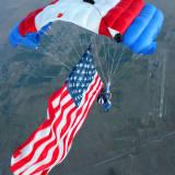 Flag jump on 9/11