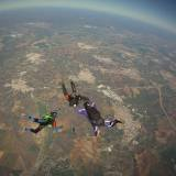 Learning formation skydiving