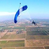 Sabre2 over Parachute Center, Lodi