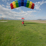 Tandem landing at GFFC