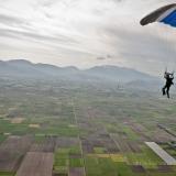 Canopy flight over GFFC