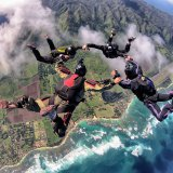 4 way over Hawaii