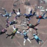 Dropzone.com 10-way record. Perris Valley Skydiving - 2 March 2002