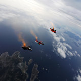 Wingsuit over Koster island