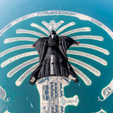 Flying Wingsuit over the Palm Jumeirah in Dubai! By Juan Mayer