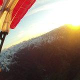 Sunset over Zell on Lake Austria