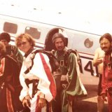 Bama Skydivers in late 1970's