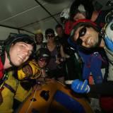 Raft dive at Summerfest 07