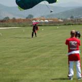 Landing in Ikaros drop zone