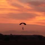Africa Sun set Jump