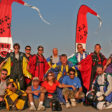 Flock University Crew at Skydive Utah