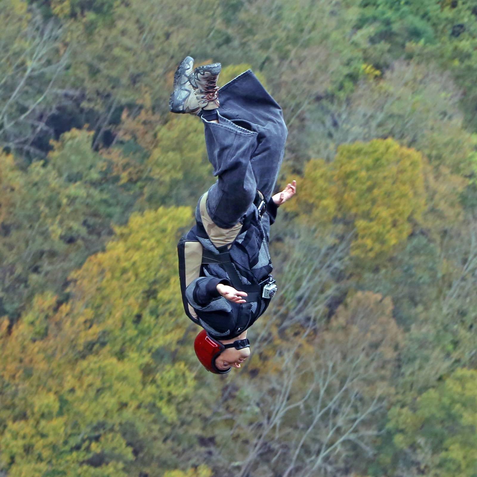 First BASE jump