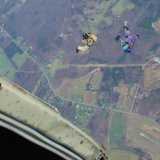 Skydive say by by