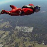 Getting some wingsuit coaching