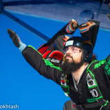 Heavily bearded guy jumps AFF lvl IV