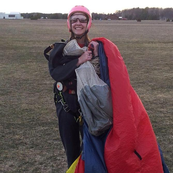 first skydive!