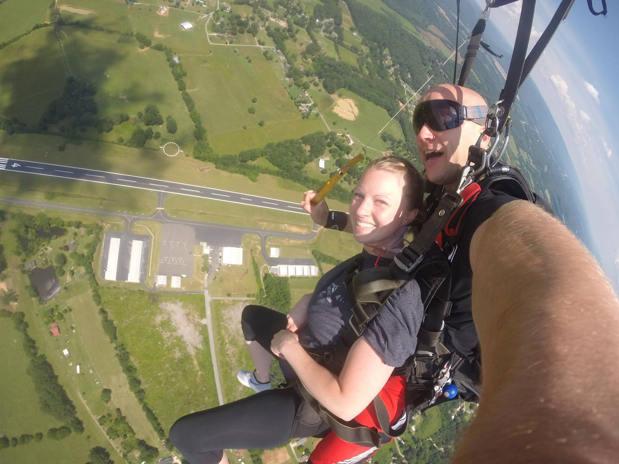 Canopy Ride with Chattanooga Skydiving Company