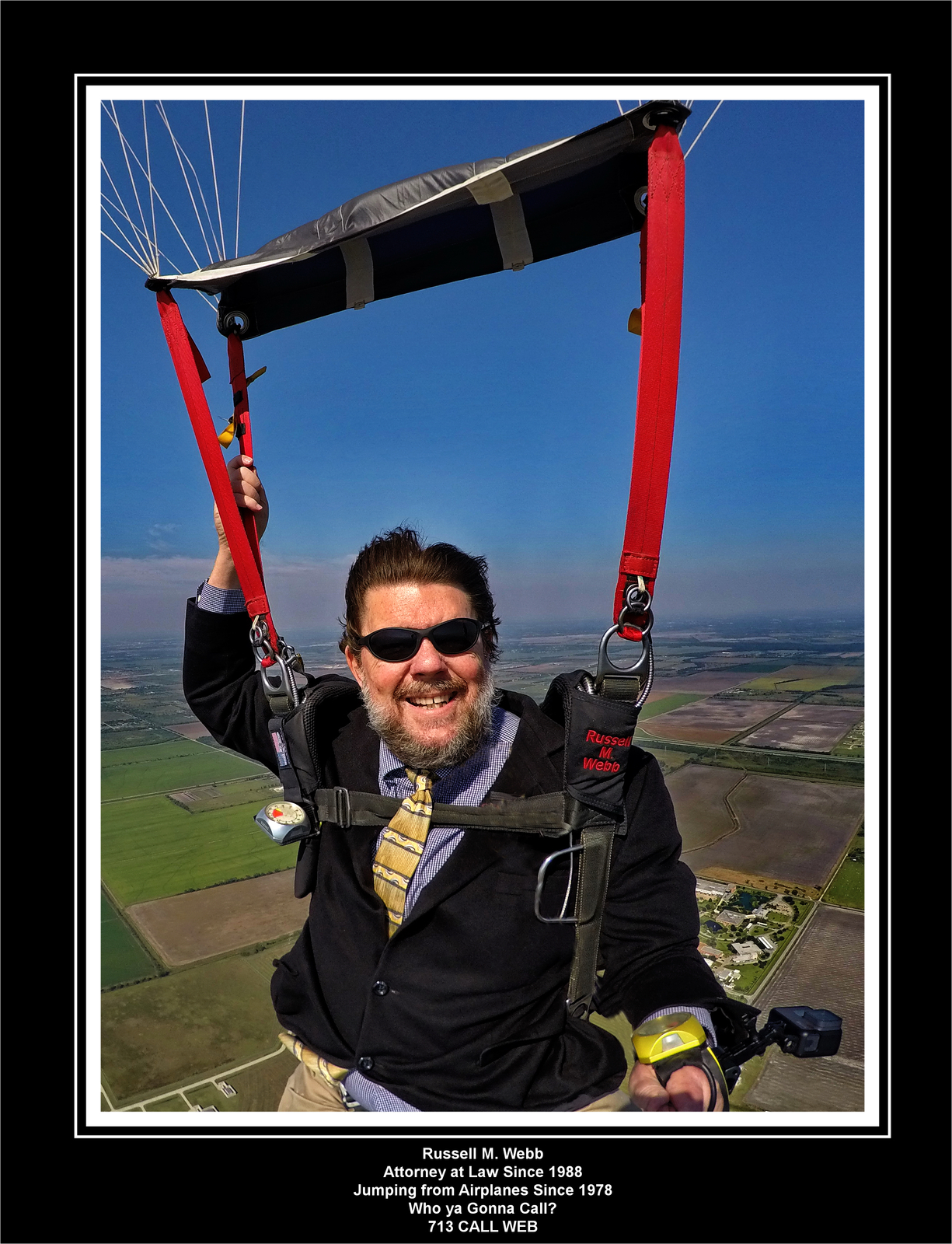 Skydive in Suit