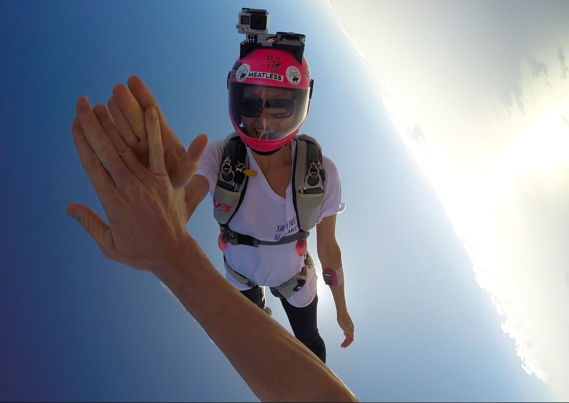Happiness at Skydive Algarve