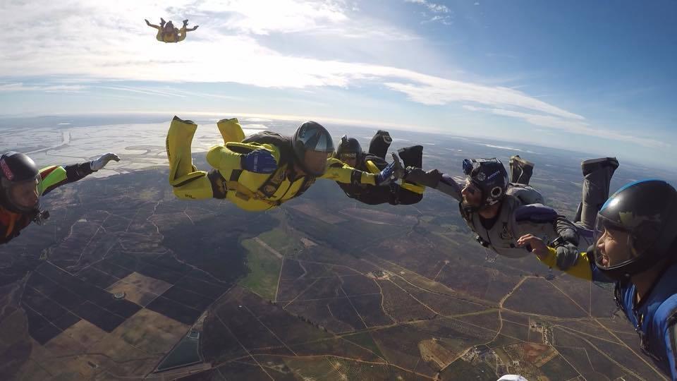 Regan Tetlow at Skydive Spain