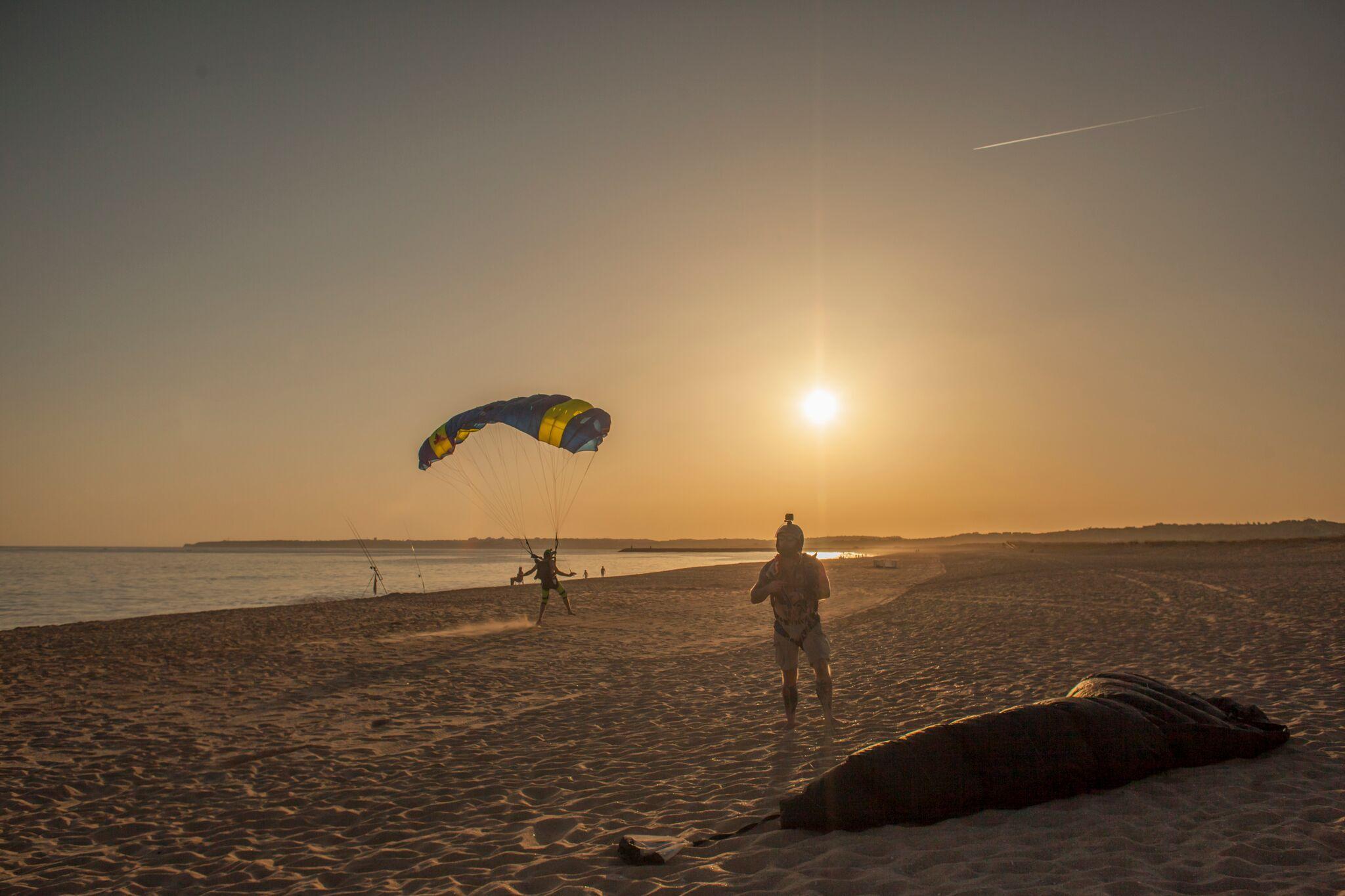 Beach jumps at Skydive Algarve