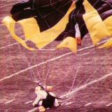 ECU Homecoming Stadium Jump - landing