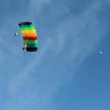 canopy flight with moon