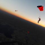 Canopy flight @ sunset