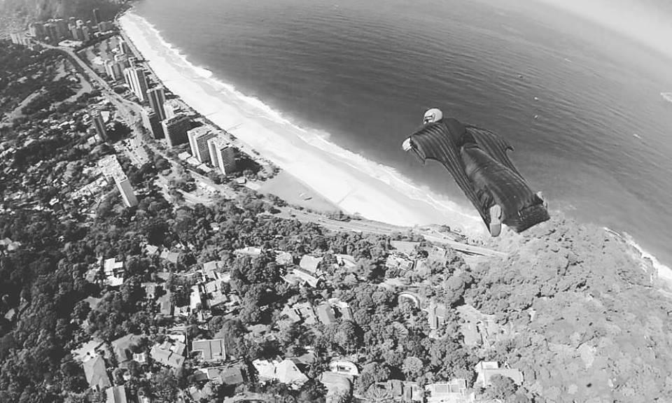 WingSuit Aura over Rio de Janeiro