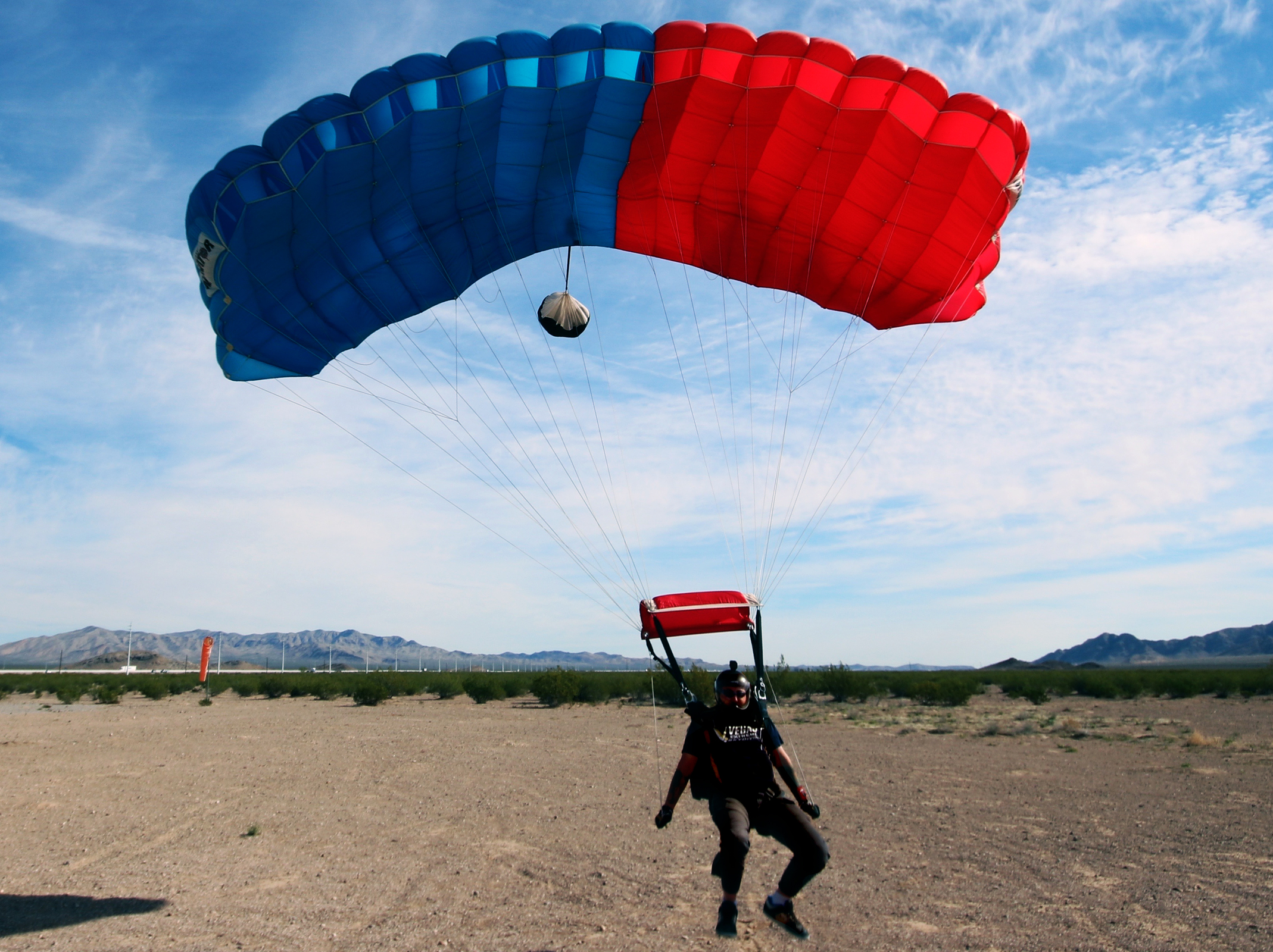 Skydive 114 Landing