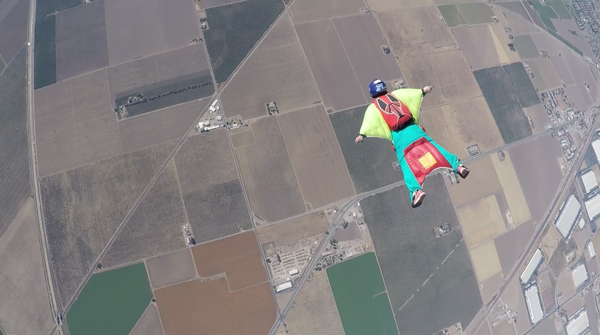 Wingsuit First Flight Course